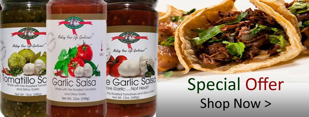 GMB Specialty Foods Garlic Survival Garlic Salsa