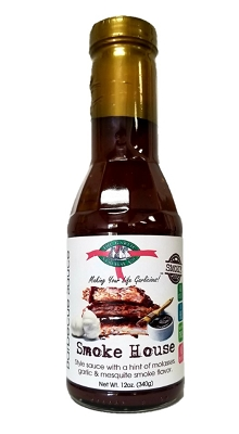 Smokehouse Style Garlic Barbecue Sauce Case of 12