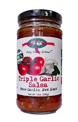 Garlic Survival Triple Garlic Salsa