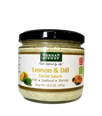 Norman Bishop Lemon & Dill Tartar Sauce Case of 12