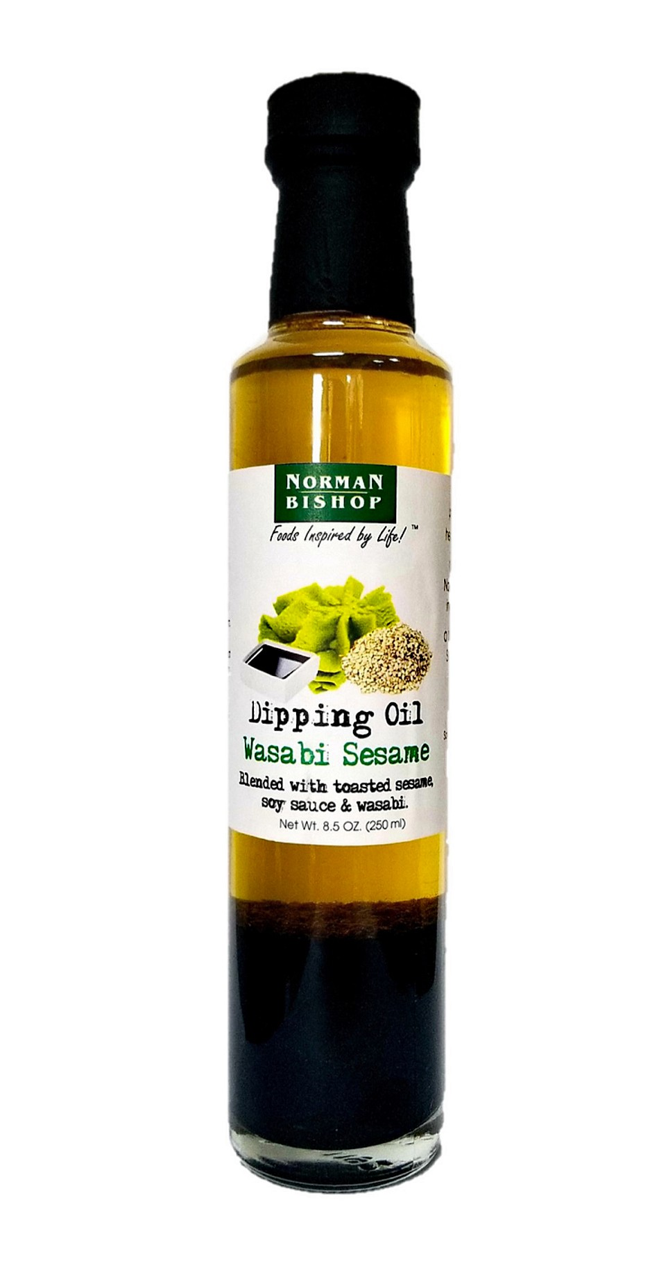 Norman Bishop Wasabi Sesame Dipping Oil Case of 12