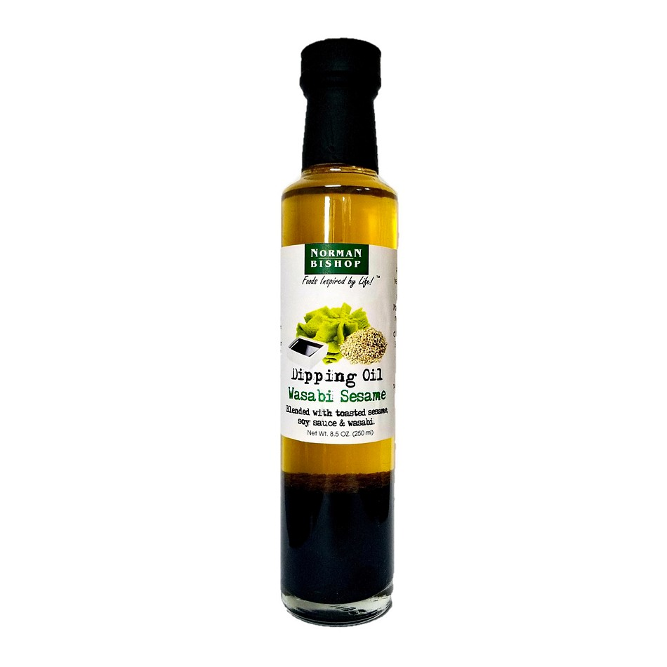 Norman Bishop Wasabi Sesame Dipping Oil