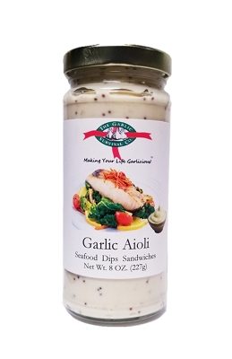 The Garlic Survival Company Garlic Aioli Case of 12