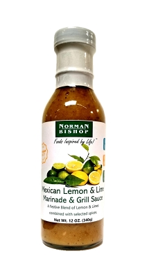 Norman Bishop Mexican Lemon & Lime Marinade Case of 12