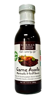 Norman Bishop Carne Asada Grill Sauce Case of 12 - FREE SHIPPING