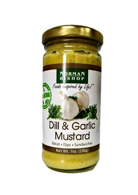 Norman Bishop Dill & Garlic Mustard Case of 12