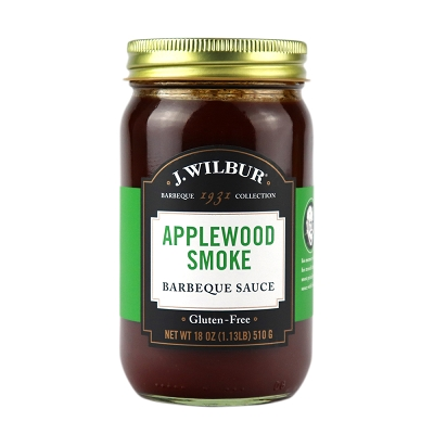 J. Wilbur Foods Applewood Smoke Barbeque Sauce