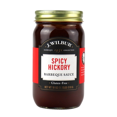 J. Wilbur Foods Spicy Hickory Barbeque Sauce