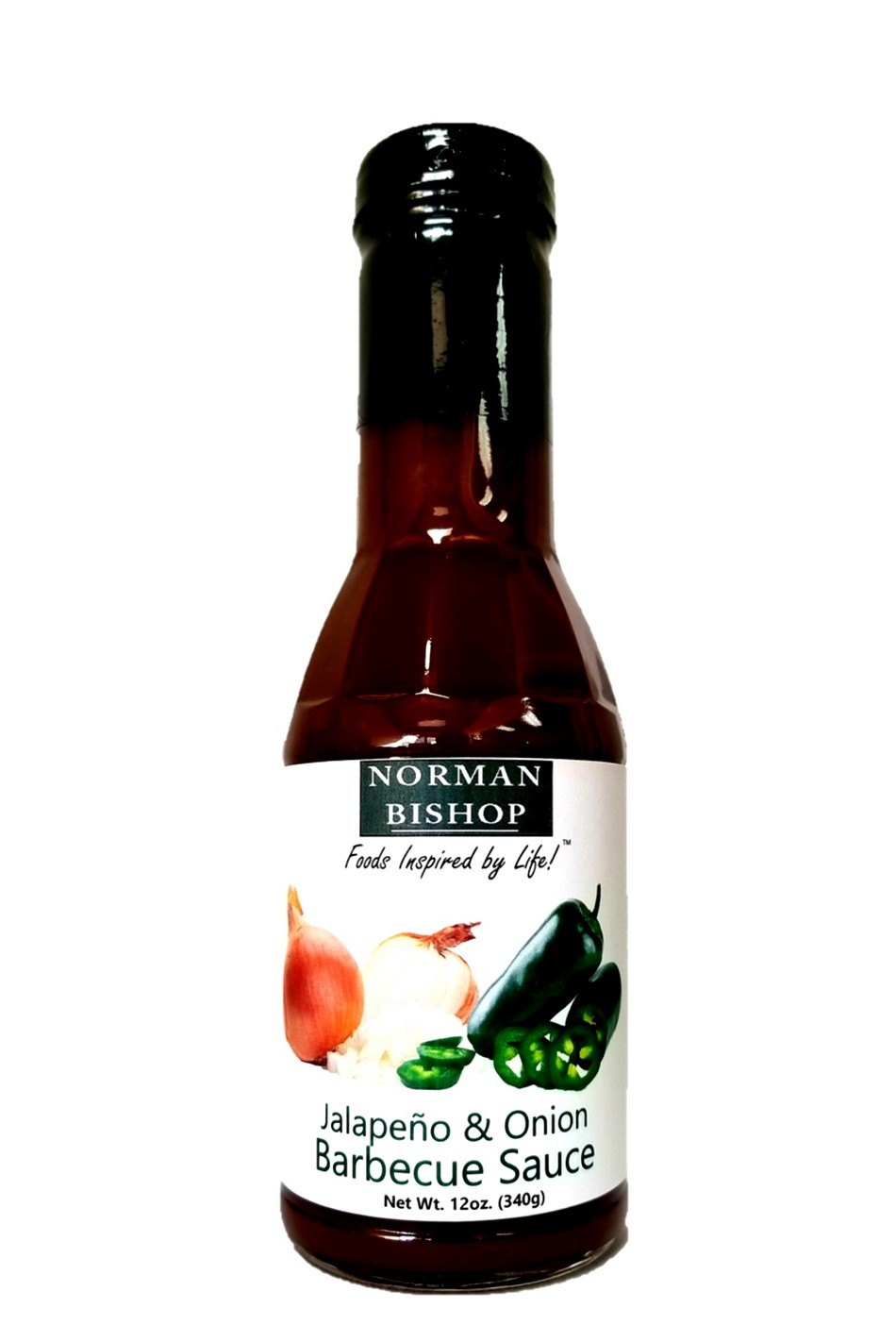 Norman Bishop Jalapeno & Onion Barbecue Sauce Case of 12 - FREE SHIPPING
