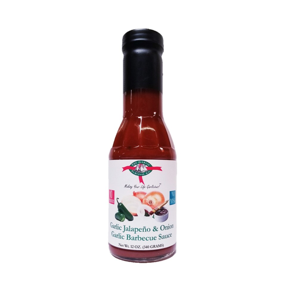 The Garlic Survival Company Garlic Jalapeno & Onion Barbecue Sauce