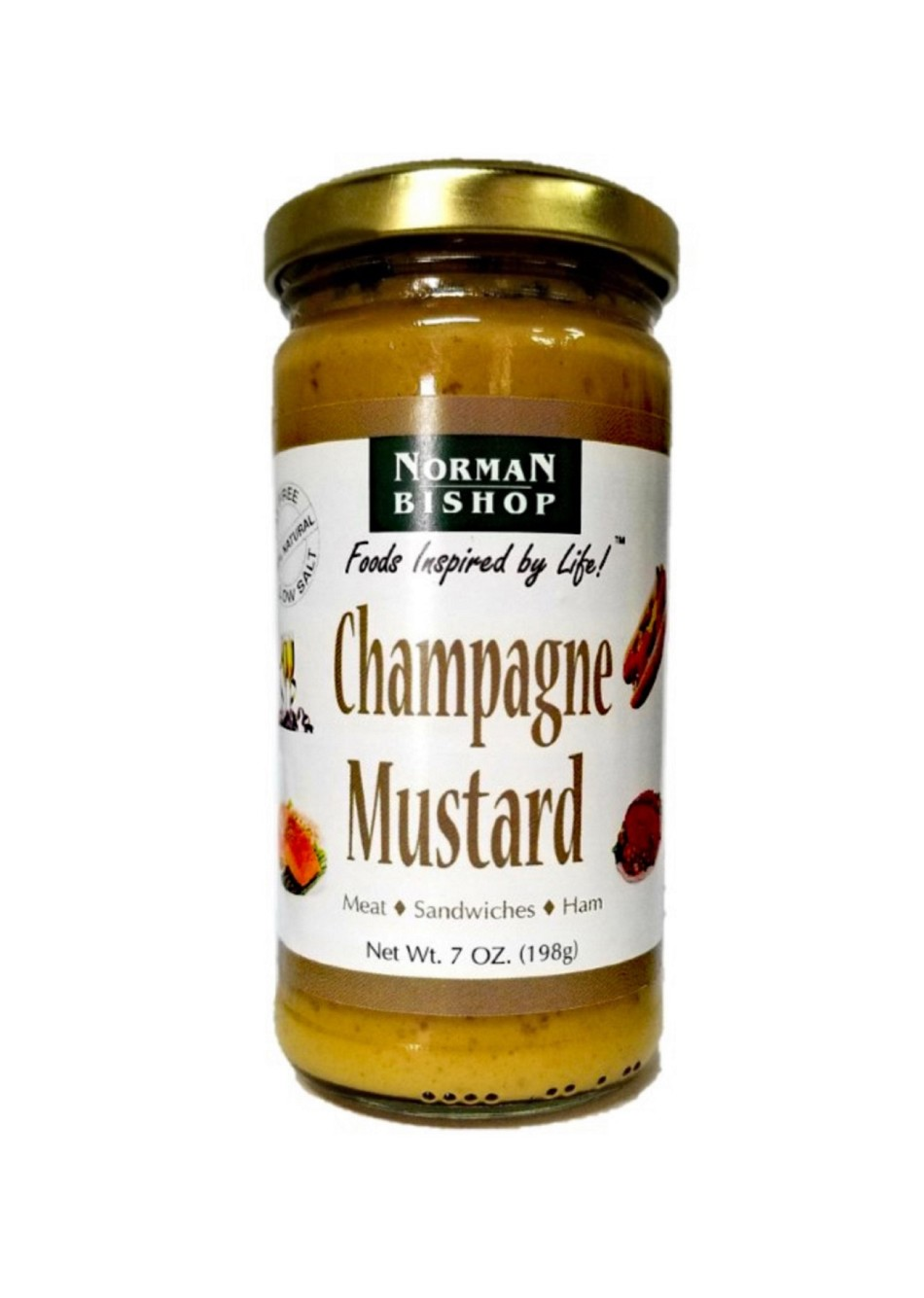 Norman Bishop Champagne Mustard