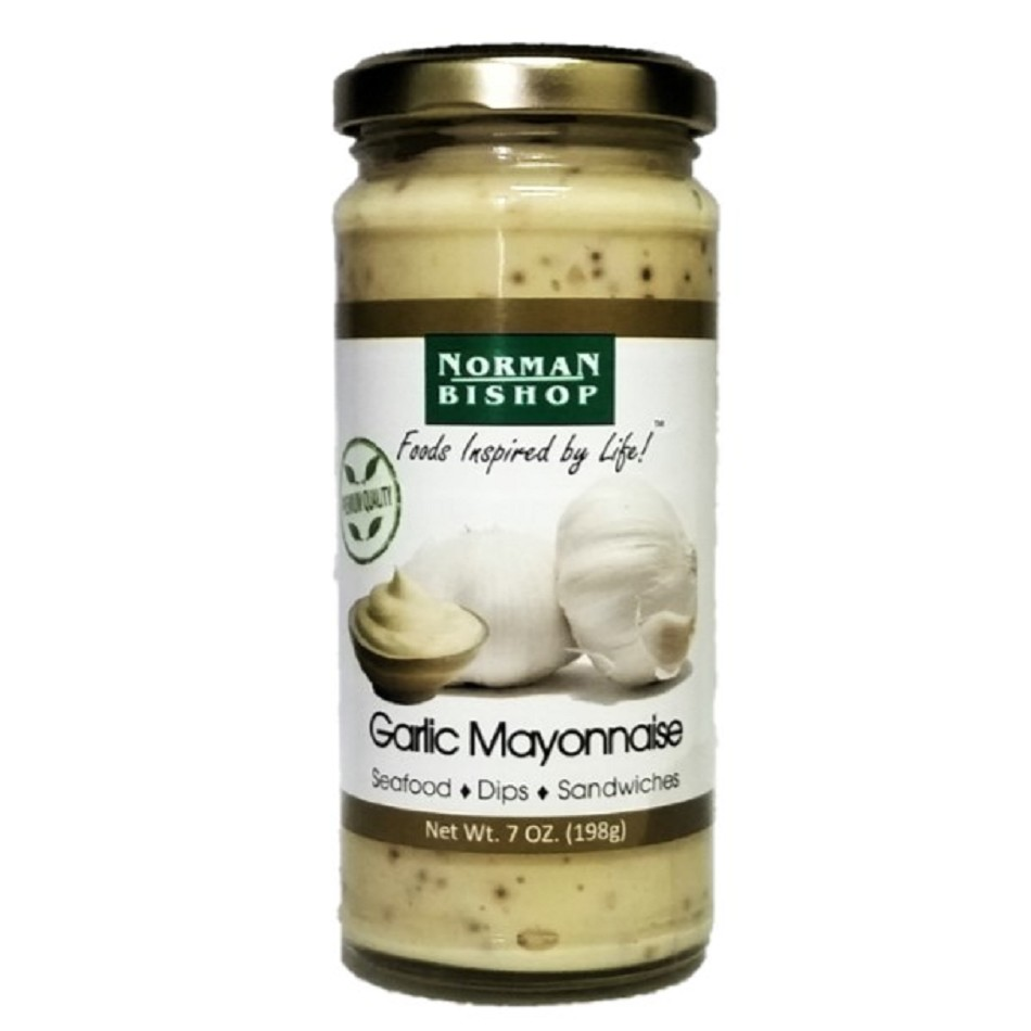 Norman Bishop Garlic Mayonnaise