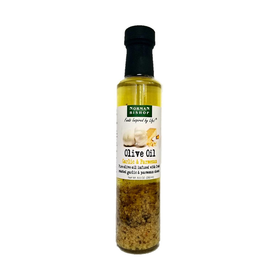 Norman Bishop Garlic & Parmesan Olive Oil Case of 12