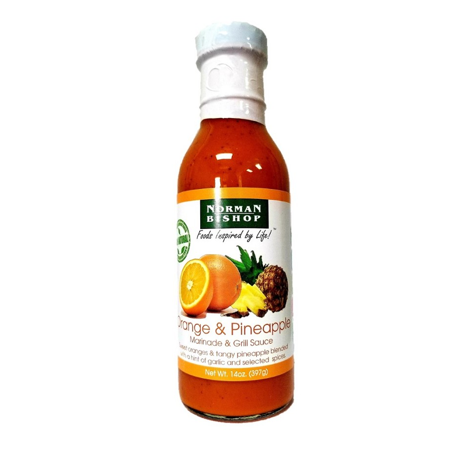Norman Bishop Orange & Pineapple Grill Sauce